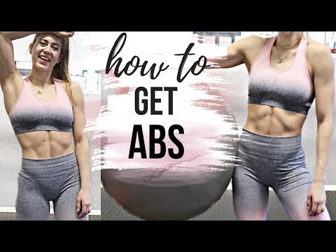 HOW TO GET ABS & EAT LOTS OF FOOD!