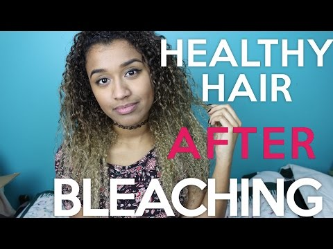 How to Keep Your Hair Healthy After Bleaching/ Dyeing | OffbeatLook
