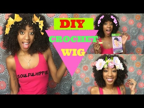 DIY Curly Crochet Wig