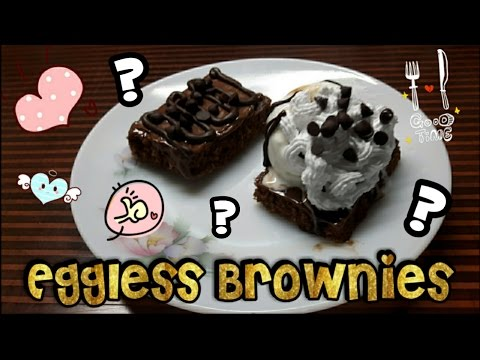 Quick EASY Delicious Eggless Brownies Without Oven? [Dhwani Patel]
