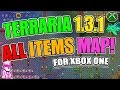 Download  TERRARIA 1.3.1 (UPDATE OUT NOW) NEW ALL ITEMS MAP FOR XBOX ONE WITH 1.3.1 ITEMS!!! MP3,3GP,MP4