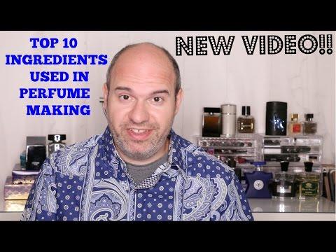 TOP 10 INGREDIENTS USED IN PERFUME MAKING