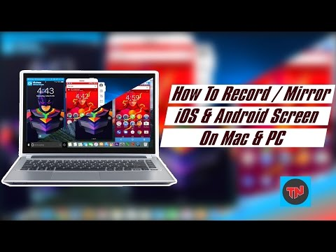 How To Record / Mirror iOS & Android Screen On Mac & PC ( No Root l No Jailbreak)