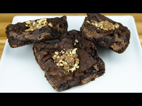 Brownie Recipe: How to Make Chocolate Brownies from Cookies Cupcakes and Cardio How-to Video