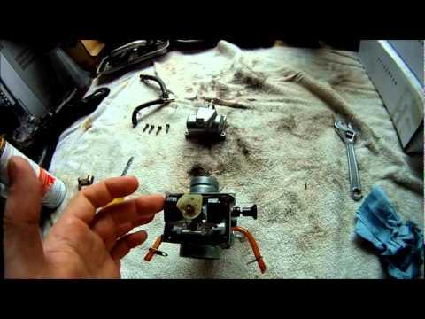 Banshee Carb Cleaning and Rebuild Mikuni