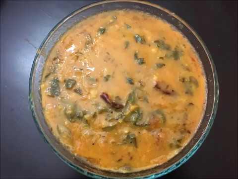 Drumstick Leaves (Moringa Leaves) Dal | Munagaku Pappu | South Indian Recipes