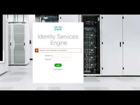 Cisco ISE :: Reset Expired Admin Password