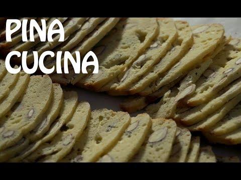 Italian Biscotti (Almond Biscuits) - Pina Cucina Ep. 12