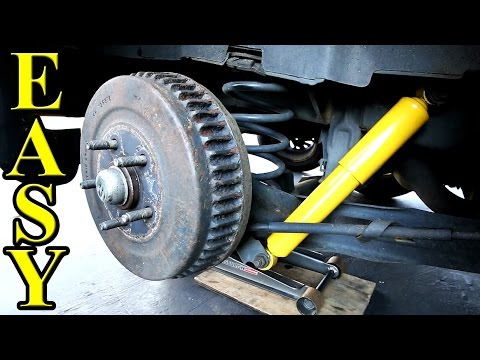 How to Replace Shock Absorbers on your car FAST and Easy