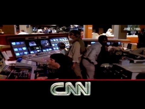 CNN's first broadcast: June 1, 1980