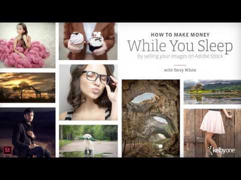 Make Money While You Sleep By Selling Your Images on Adobe Stock with Terry White | Official Trailer