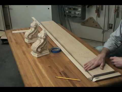 Building a Corbel Shelf