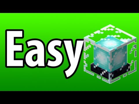 Minecraft: Easy Fast Beacons!