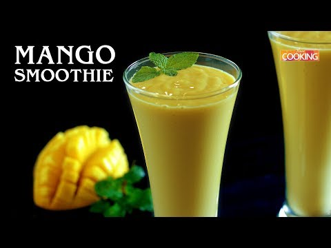 Mango Smoothie | How To Make Mango Smoothie Recipe | Summer Special Recipe By Home Cooking