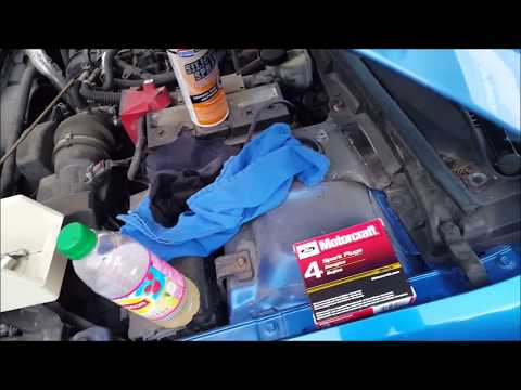 Ford Fusion 2012 Change Spark Plugs (7 minutes), Replace Engine Air Filter, Cabin Air Filter