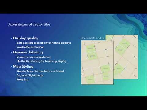 Desktop Mapping: Creating Vector Tiles