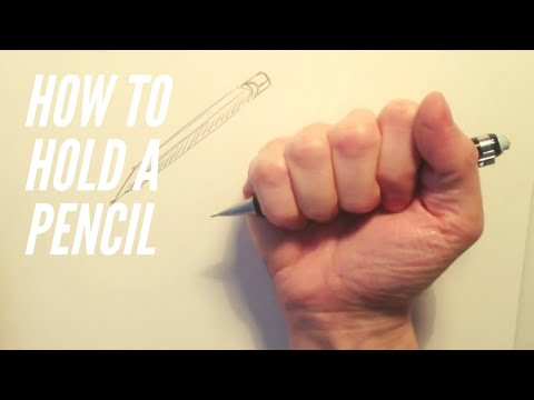 How To Hold a Pencil   Comics for Beginners Bonus Vid