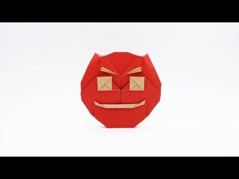 ORIGAMI DEVIL EMOJI 😈👿 (Jo Nakashima)