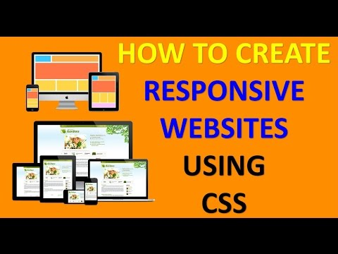 how to make responsive website (mobile responsive and html responsive)