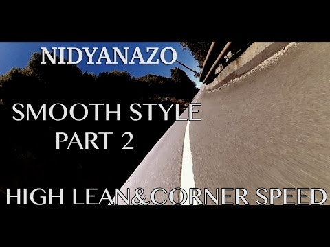 PART.2- [High lean angles& Corner speed+Smooth drive style] Cliffside ride @6000'  -NIDYANAZO R1-