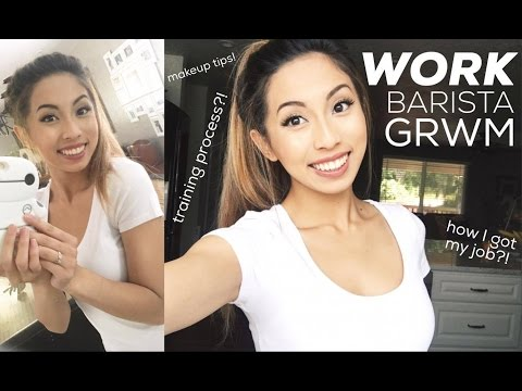 Chit-Chat GRWM: How I Got My Job as a Boba-Barista?! Work/Barista Makeup! // @ohdangdanii