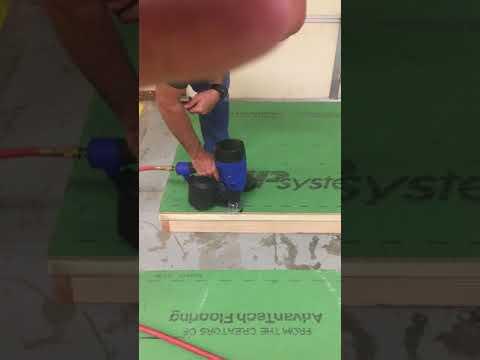 Zip R Sheathing to Wood Using 3
