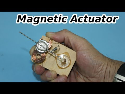 Make a Magnetic Actuator
