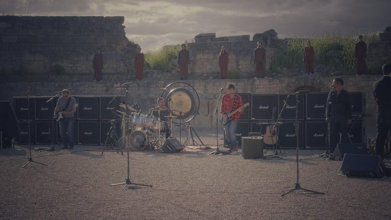 Pink Tones in concert at Segóbriga Roman Amphitheatre