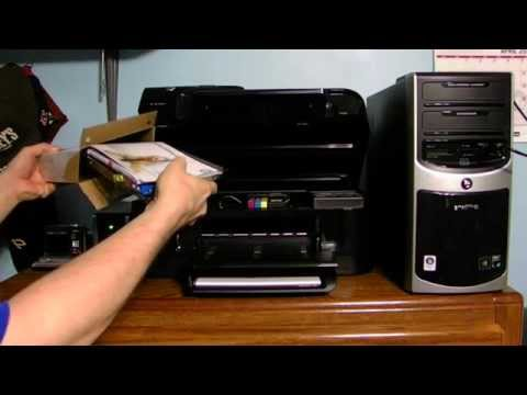 HOW TO CHANGE THE INK IN YOUR HP OFFICEJET PRINTER 6500A