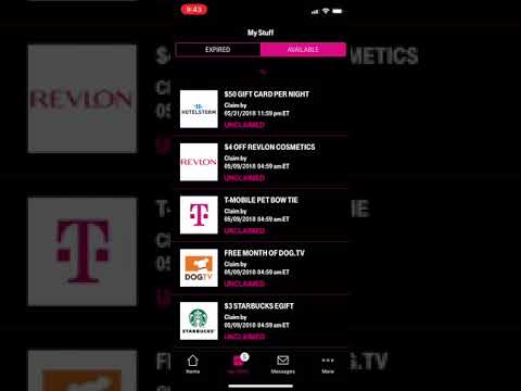 T-Mobile Tuesday App May 8 2018