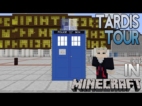 Minecraft Doctor Who TARDIS: 11th Doctor's Console Room