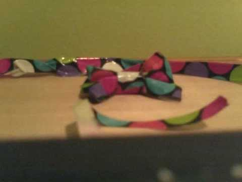 How To Make a Duct-Tape Pet BowTie