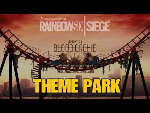 Rainbow Six Siege Theme Park Walkthrough