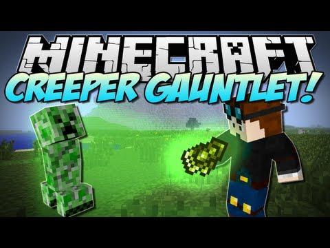Minecraft | CREEPER GAUNLET! (Blow up EVERYTHING!) | Mod Showcase [1.5.2]