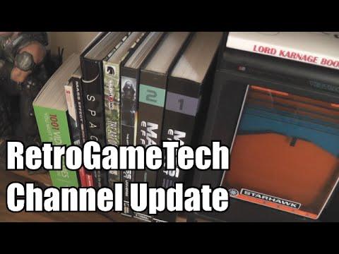 RetroGameTech -  Channel Update - Where'd I Go?