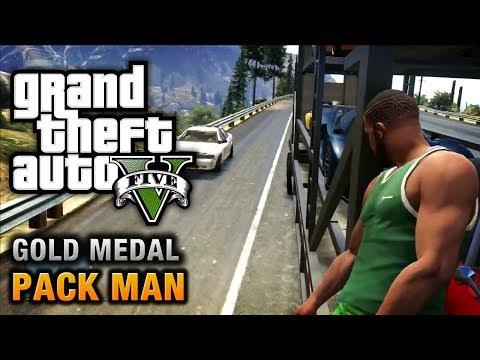 GTA 5 - Mission #58 - Pack Man [100% Gold Medal Walkthrough]