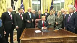 President Trump Signs the Interdict Act