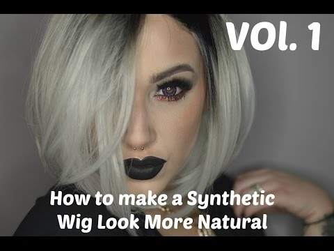 HowTo Make Synthetic Wigs Look More Natural: Feat. FeshFen