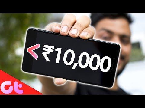 TOP 5 BEST PHONES UNDER ₹10000 (2018)