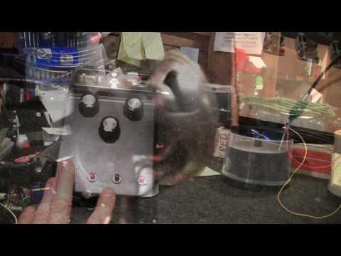 Homemade Rotating Speaker Leslie- DIY