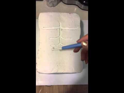 Fondant Muscle Cake Part 1