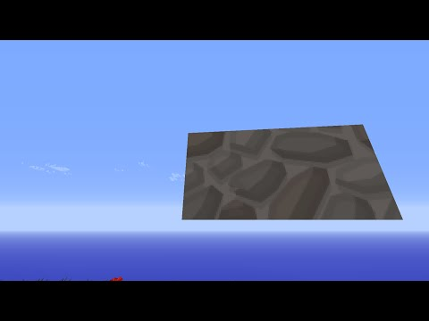 How to MAKE COBBLESTONE SLABS IN MINECRAFT 1.8 Tutorial