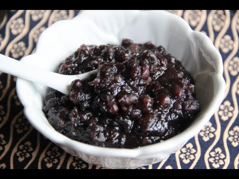 Anko (sweet red bean paste) Recipe - Japanese Cooking 101
