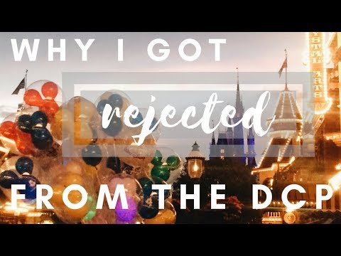 WHY I DIDN'T GET ACCEPTED INTO THE DISNEY COLLEGE PROGRAM // my tips!
