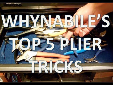 TOP 5 Pliers Tricks!
