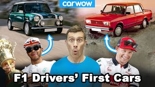 F1 drivers' first ever road cars revealed... You'll be surprised!