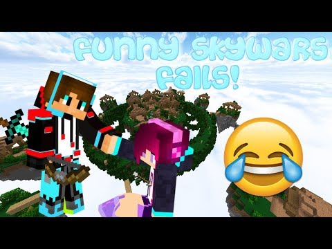 This is why I dont play Hypixel Skywars (Skywars Fails)