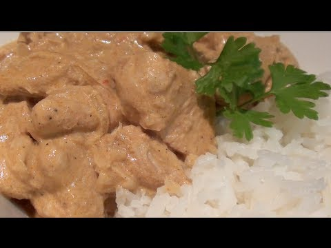 HOW TO MAKE A SIMPLE CHICKEN KORMA