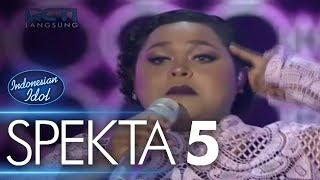 JOAN - COULD YOU BE LOVED (Bob Marley & The Wailers) - Spekta Show Top 10 - Indonesian Idol 2018