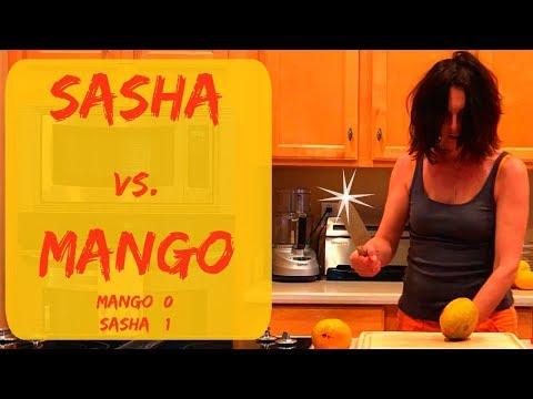 HOW TO SLICE A MANGO & HOW DO YOU CUT OPEN A MANGO - THURSDAY TIPS WITH SASHA